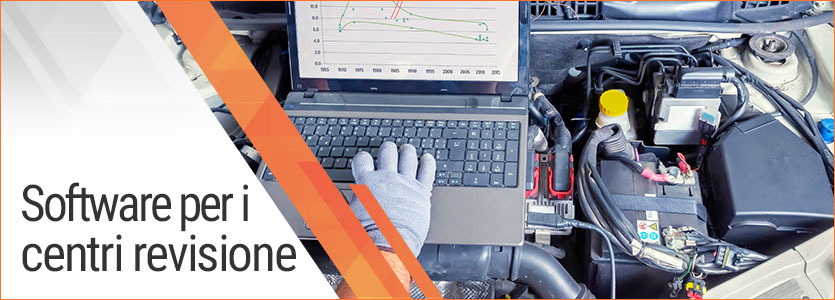 Software per i centri revisione